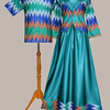 Model Baju Batik Couple Keluarga Muslim Modern Terbaru