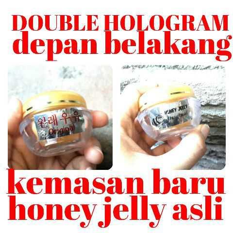 CREAM RD ORIGINAL 30gr HOLOGRAM BARU LOGO 2BUNGA. Source · Honey Jelly Massage Cream Original