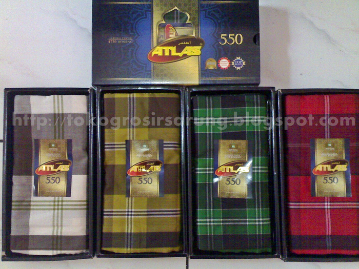 Jual Sarung Atlas Idola 550