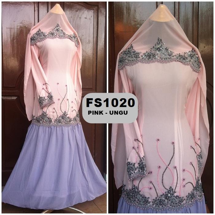Baju Gamis Pesta Hycon Payet Jepang Fs1020