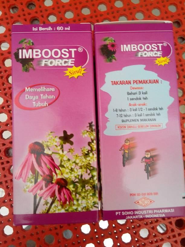 jual imboost force sirup 60ml soho untuk anak dan dewasa