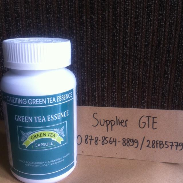 Jual Green Tea Essence Slimming Capsule (obat pelangsing ...