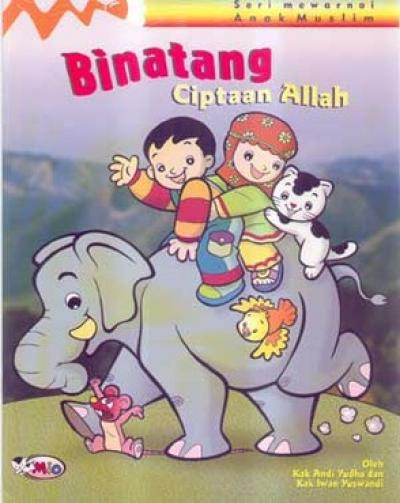 Jual Binatang Ciptaan Allah Seri Mewarnai Anak Muslim Mizan