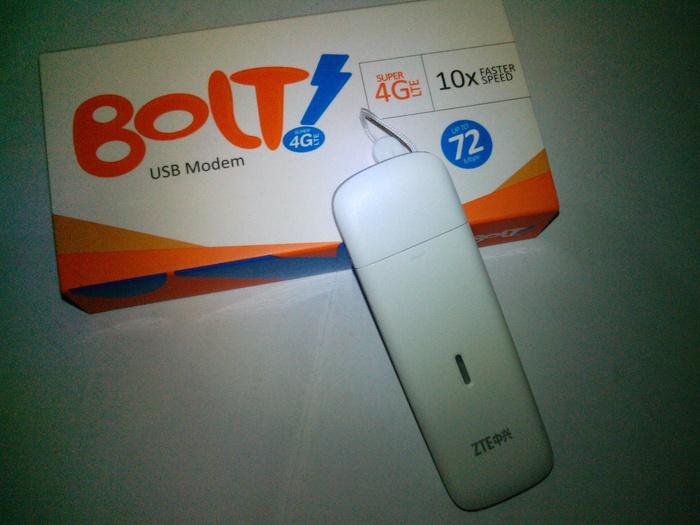 Modem USB Bolt MF825A Unlock