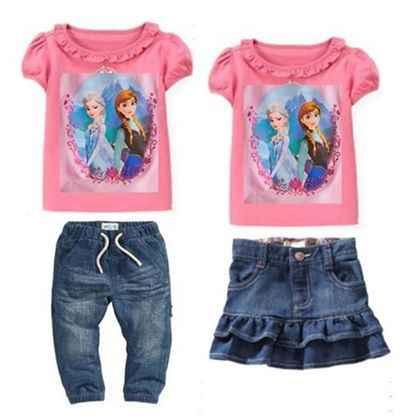 Jual PRINCESS FROZEN SET 3 In 1 T Shirt Celana Panjang