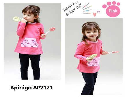 STKD144 - Setelan Anak Pink Pocket Steps Puppy Murah