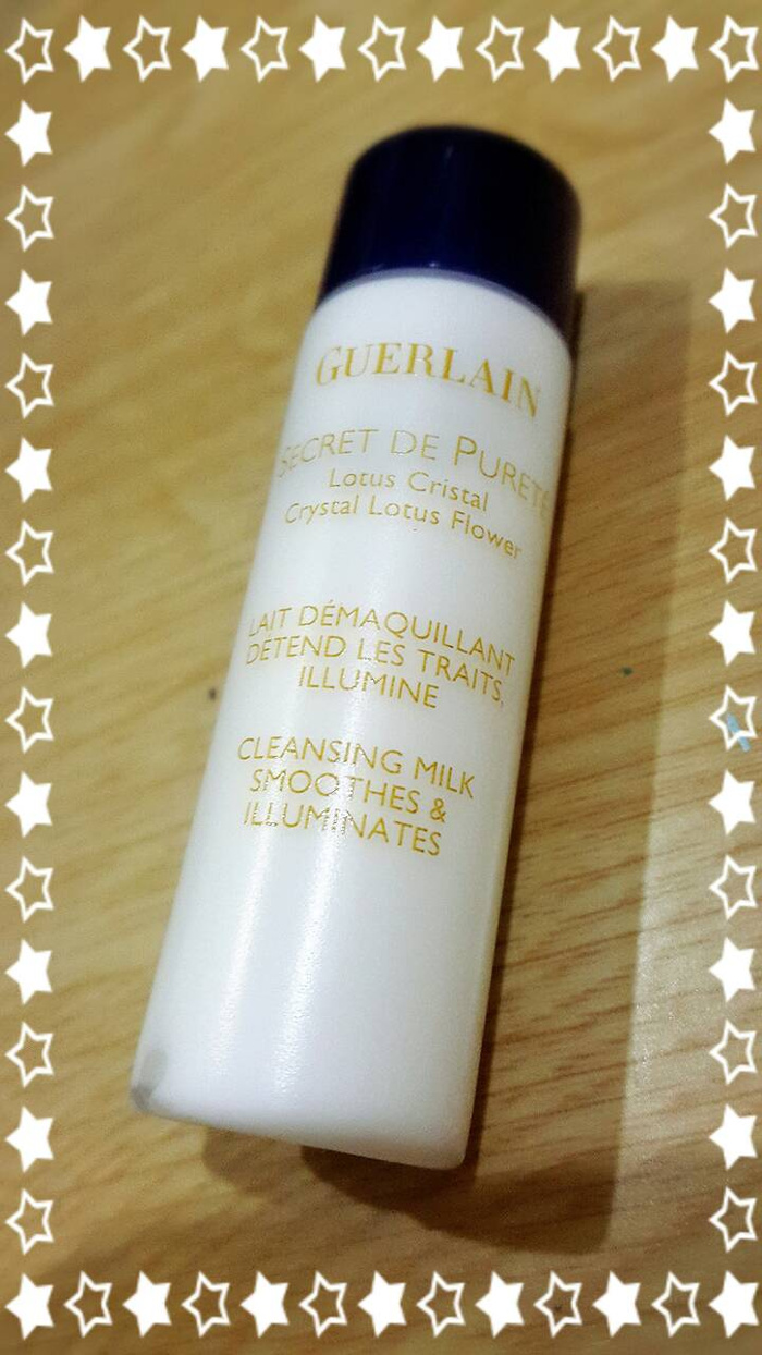 Jual Guerlain Secret De Purete Cleansing Milk 15ml Sisterthings