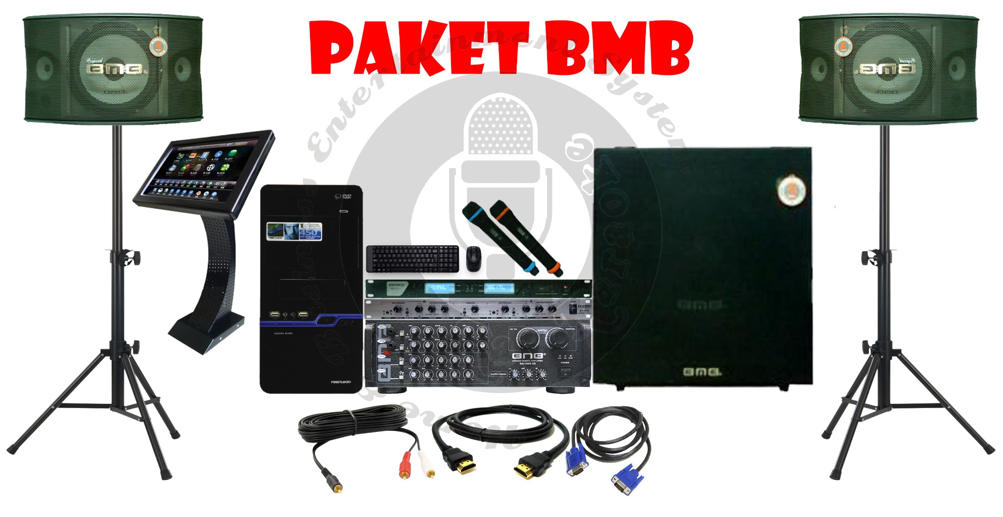 Paket Software Karaoke - presimc