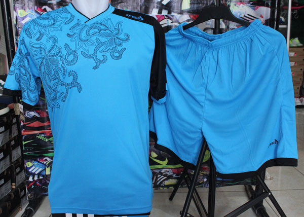 ... Kaos Futsal / Bola Specs Batik Birumuda - Grosir Kaos Futsal