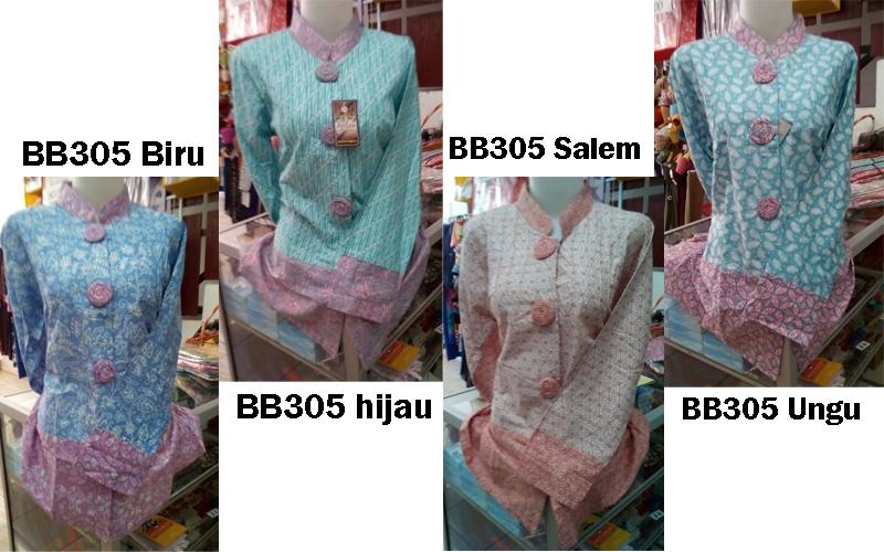 Jual Model Baju Atasan Motif Batik Bb305 Toko Baju Murah Modern