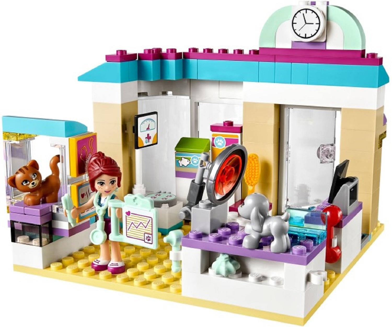 Ветеринарная клиника Lego 41085