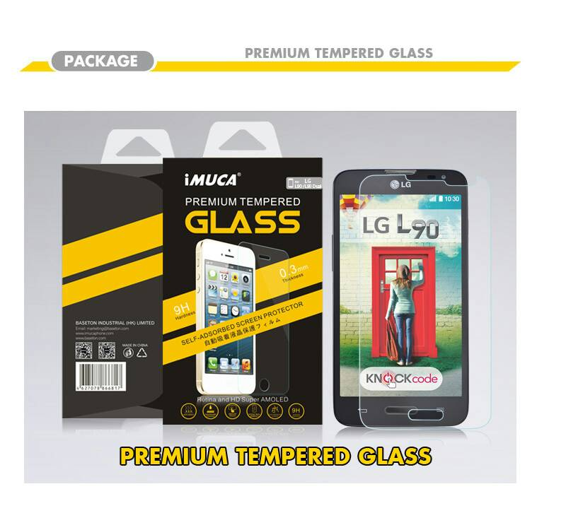 LG L90 D405 Single Sim Premium Tempered Glass Screen Protector