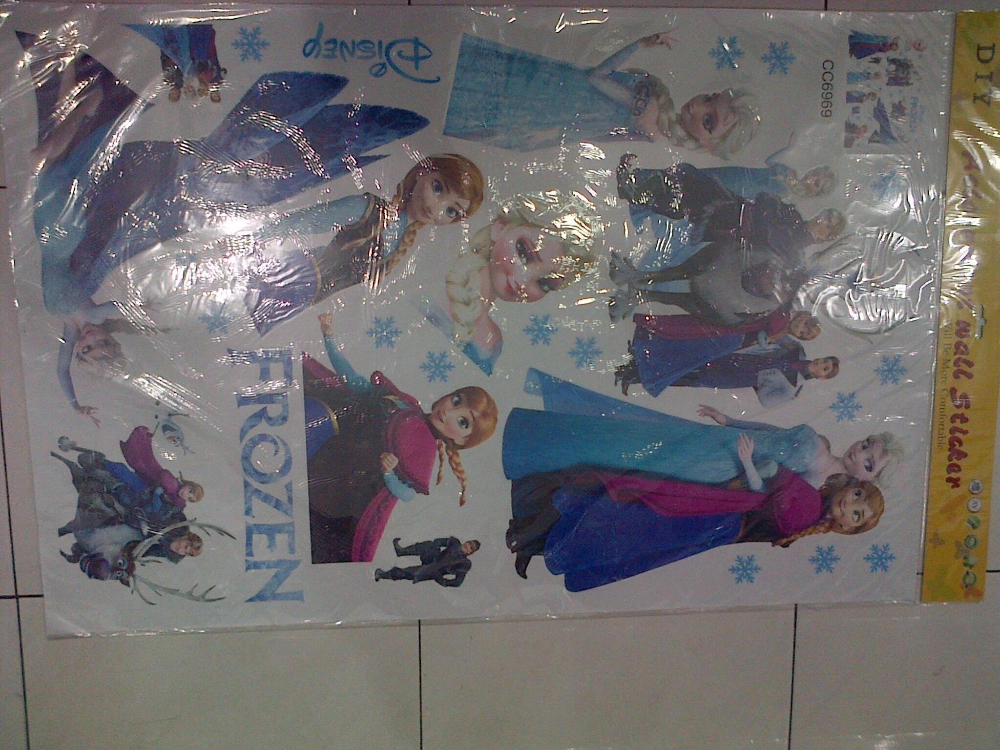 Harga Jual Wallsticker Sticker Dinding Frozen Murah Di Kab Bogor