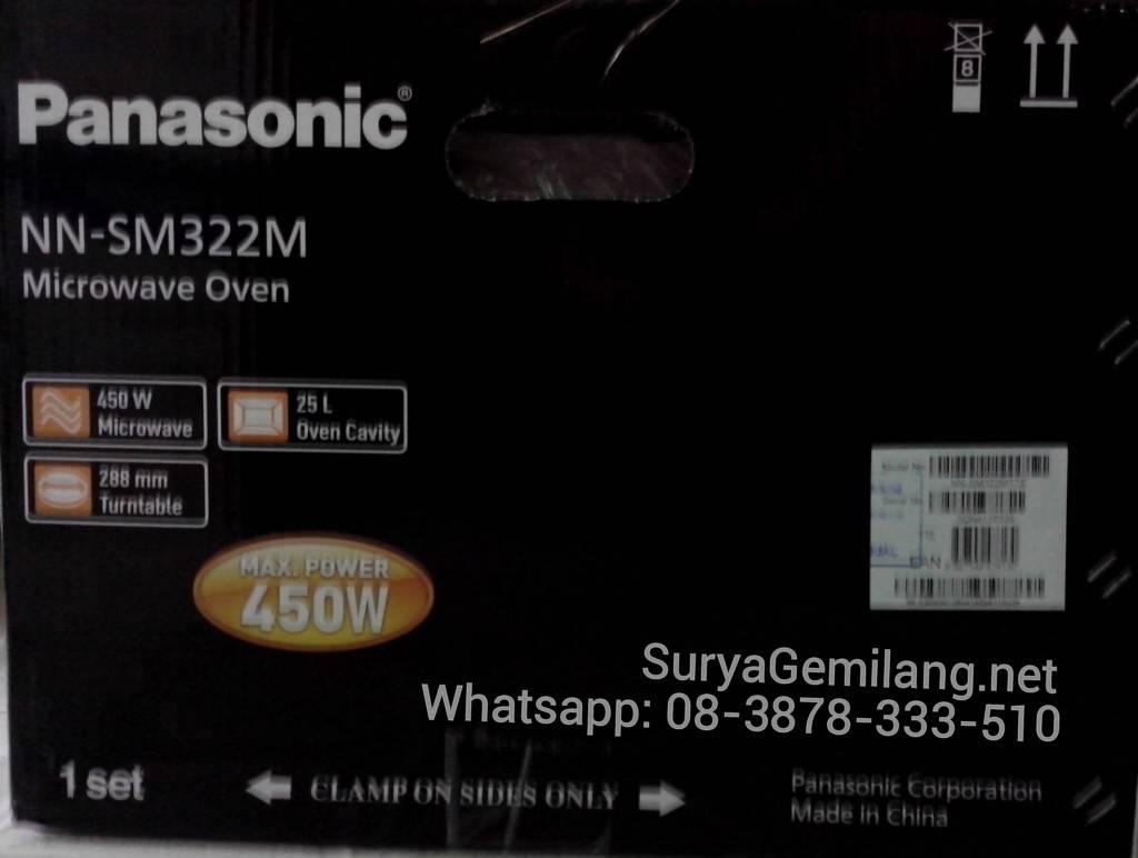 Jual Microwave Panasonic NN SM322 Ekonomis Asli Baru