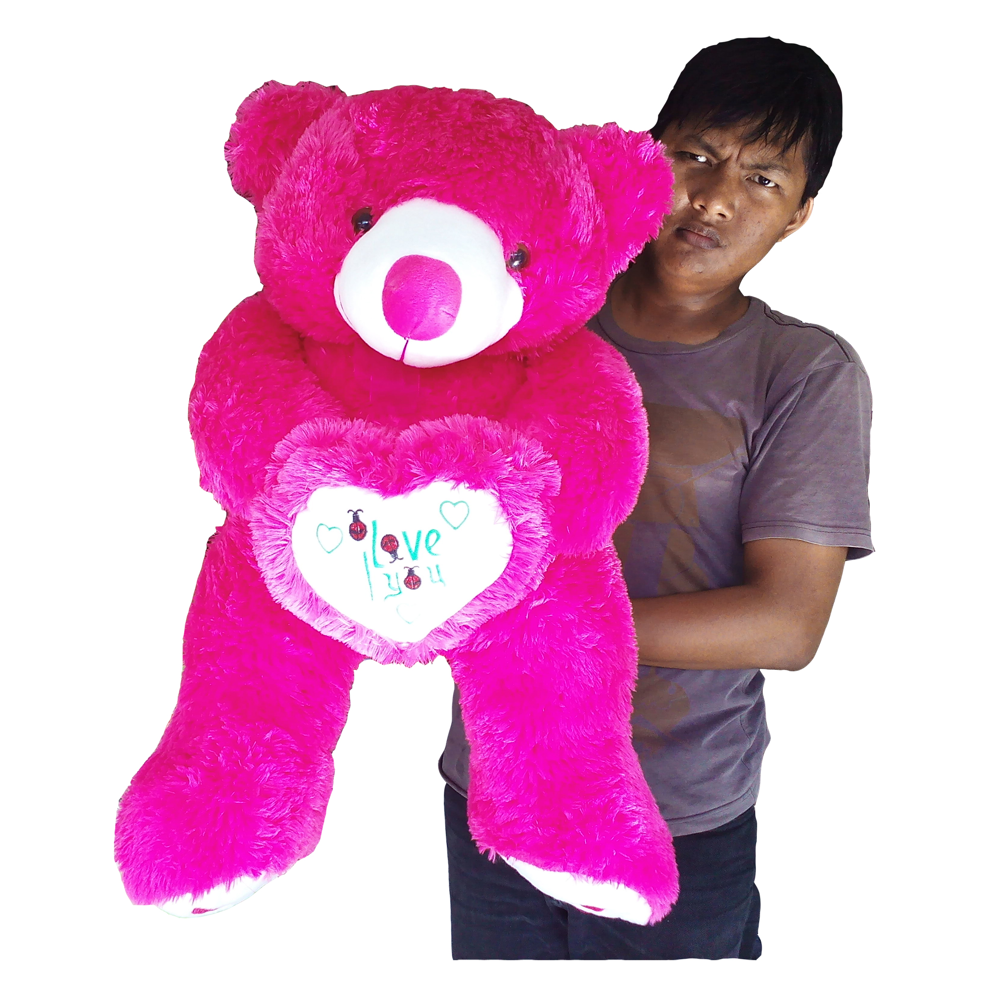 Raja Boneka Boneka Teddy Bear Jumbo Ungu Daftar Harga Terkini dan Source ·  Boneka Beruang Besar bdb49695e1