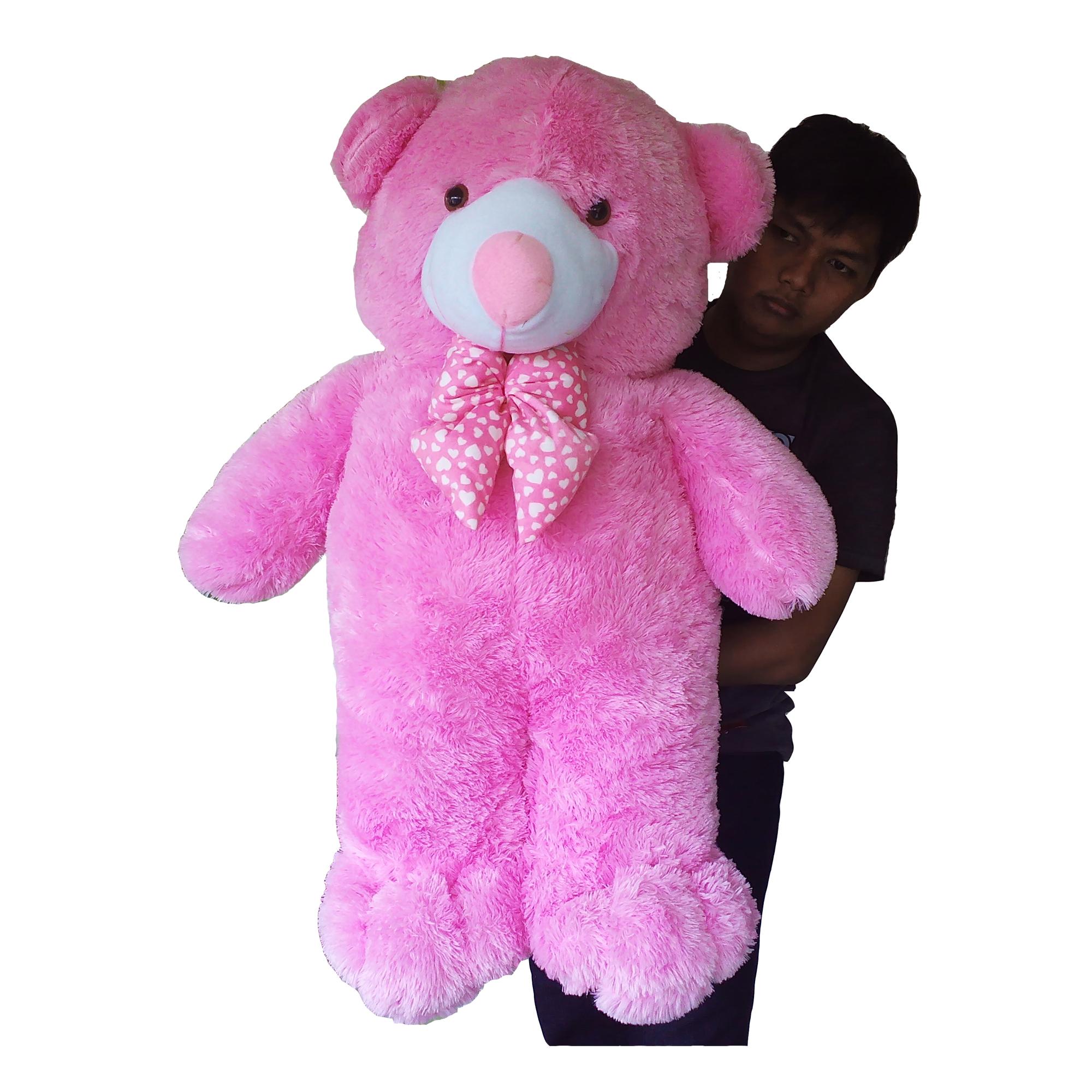 Jual Boneka Teddy Bear Jumbo Pink Raja Boneka Tokopedia 59ca07f7e5