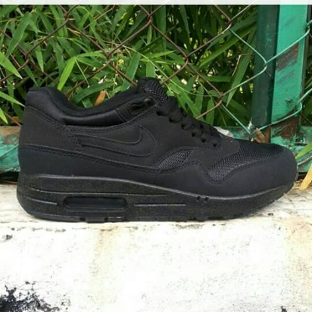 a65f6e1122 promo code for jual sepatu nike air max one high full black miliki sepatu .  d0109
