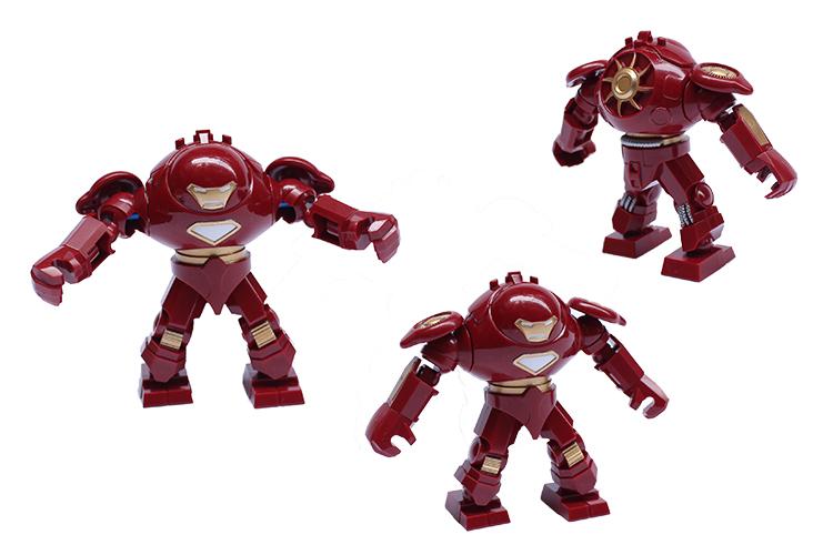 Big Iron Man vs Hulk Lego Decool Iron Man Hulk