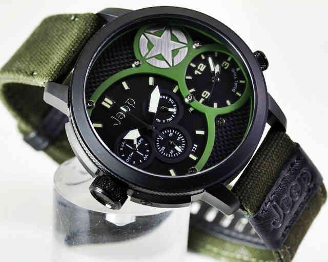 Jual jam tangan murah jeep kanvas - Arloji Murah  0df2322226