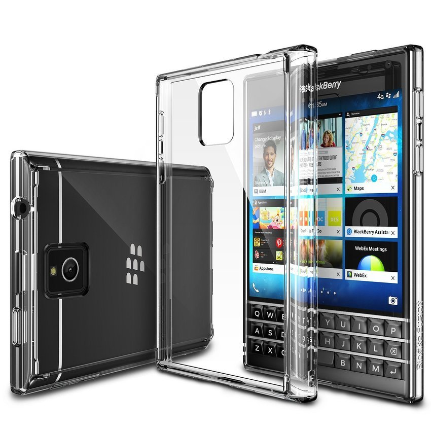 Rearth Ringke Blackberry PASSPORT FUSION Crystal View