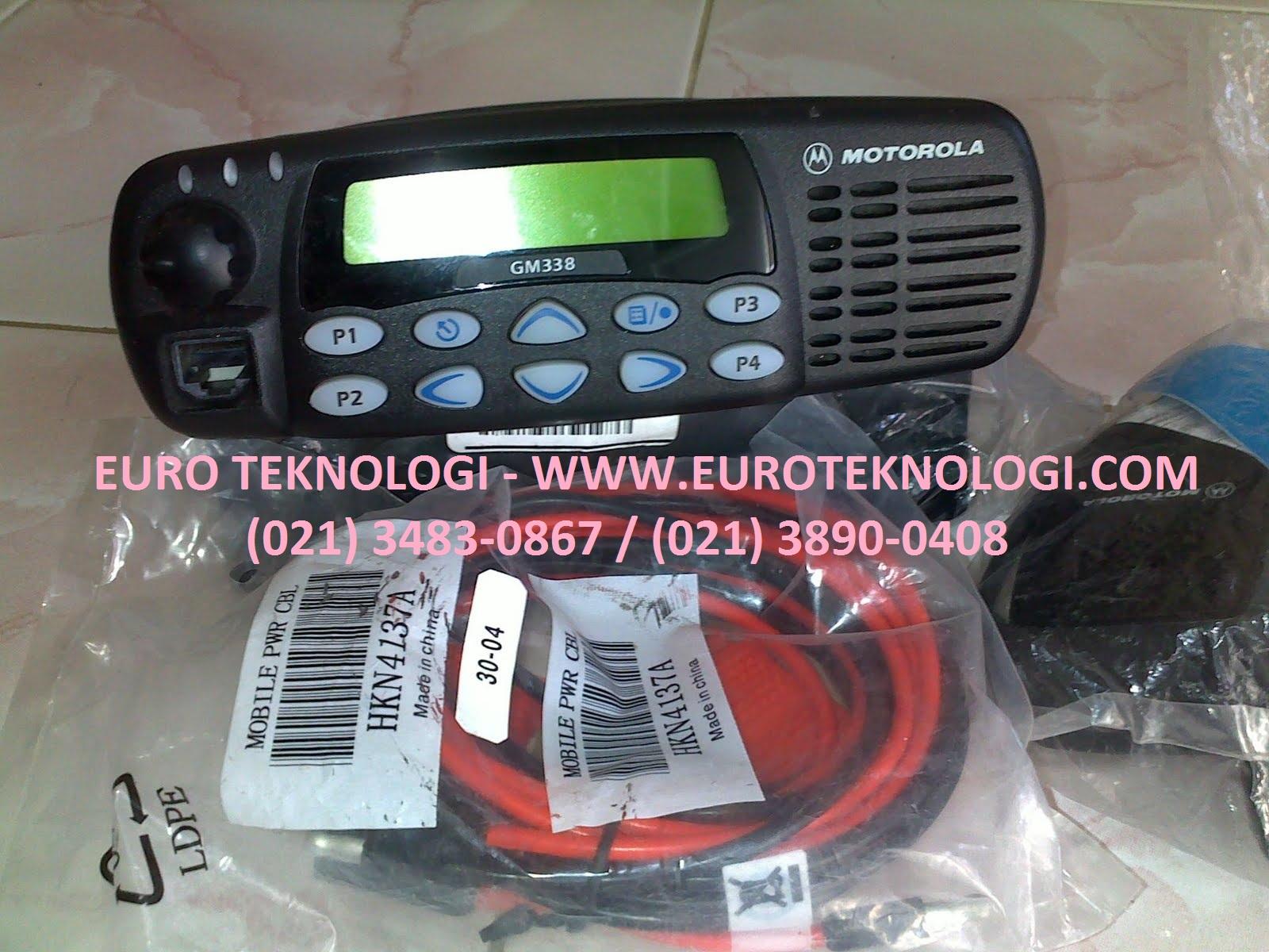 Jual Radio RIG Motorola GM-338 VHF/UHF Harga Termurah