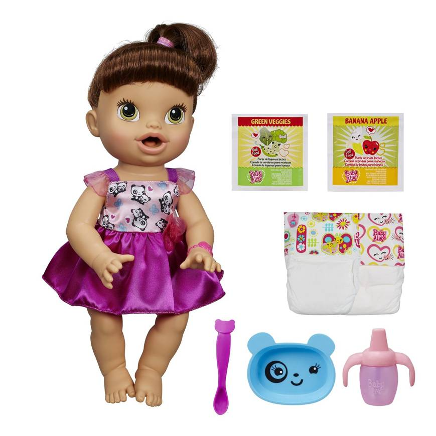 BA111 Baby Alive My Baby All Gone Doll (Brunette)