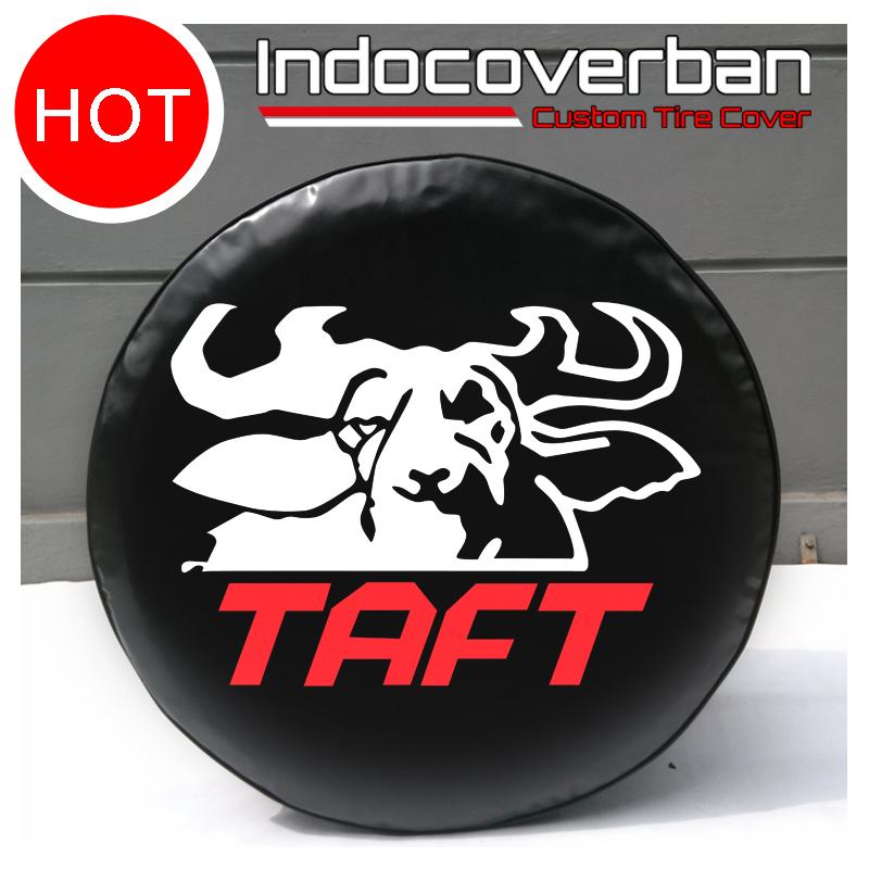 Cover Ban / Sarung Ban Serep Daihatsu Taft Kebo Merah Putih