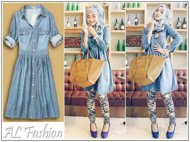 Dress Jeans Washed hijab