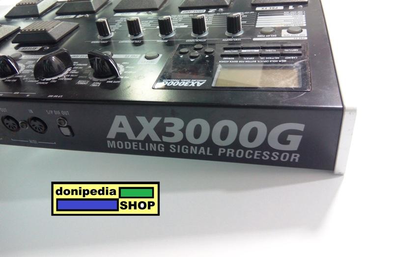 Efek Gitar KORG AX3000G / AX3000 / AX 3000 G / 3000G ~ Guitar Effect