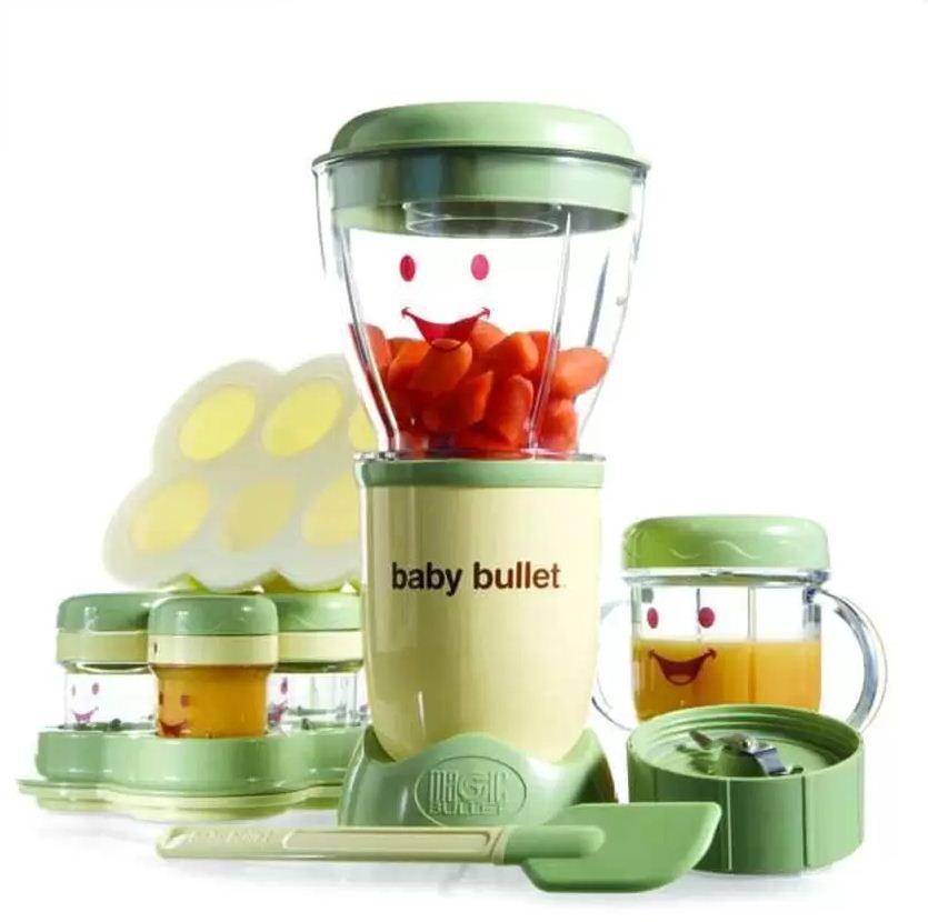 Baby Bullet Blender Bayi Complete Baby Food Processor Satu Set