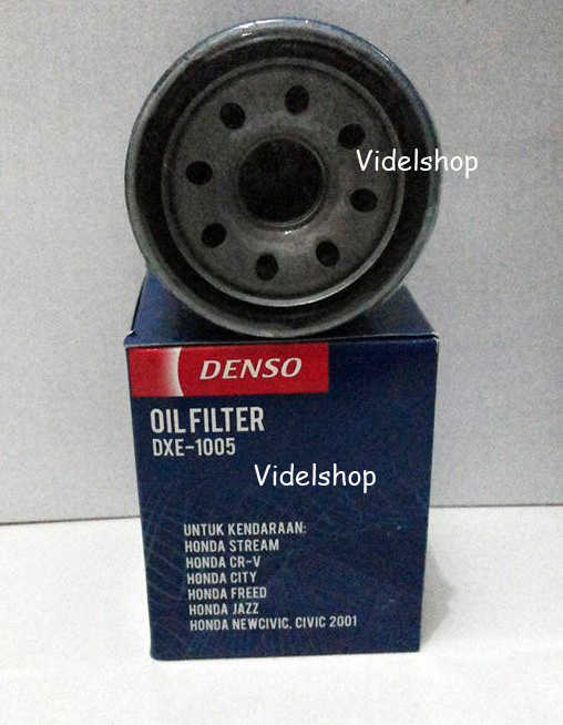 Filter Oli Denso untuk CRV, Jazz, City, Brio, Freed