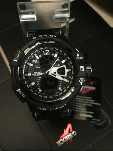 Jam Tangan Pria G-SHOCK GW-A-1100 Full Black