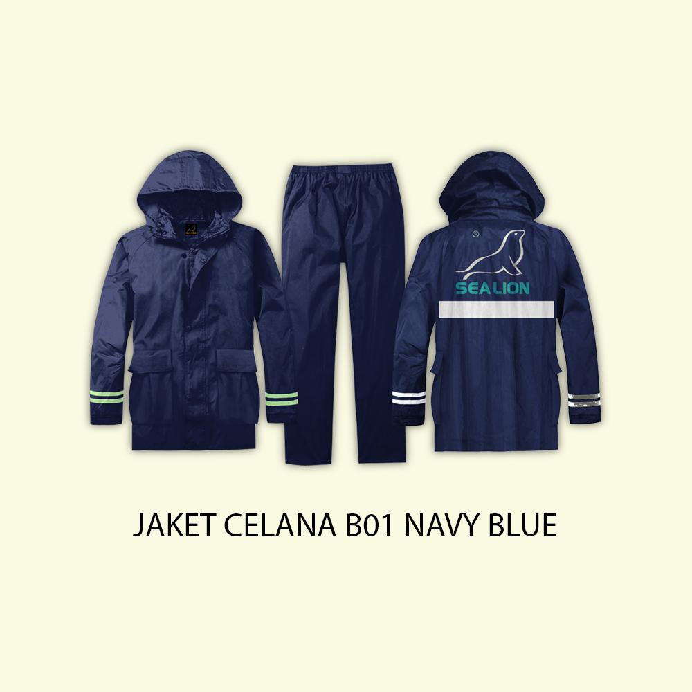 Harga Jas Hujan Sea Lion Jaket Celana B-01