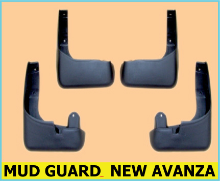 MUD GUARD TOYOTA NEW AVANZA
