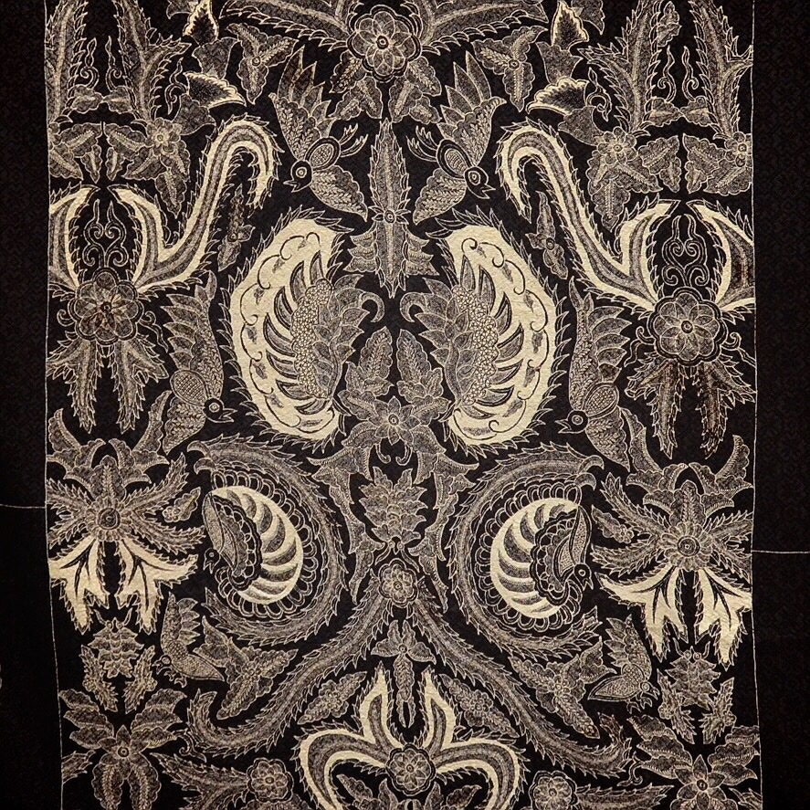 Harga Batik Tulis Asli: Jual Kain Batik Tulis Kain Sutera Motif Semen Rama Warna