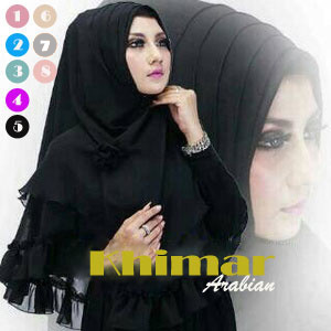 Hijab / Jilbab Instan Khimar Arabian
