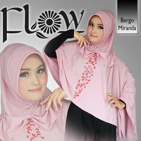 Hijab / Jilbab Flow Siria Bergo Miranda
