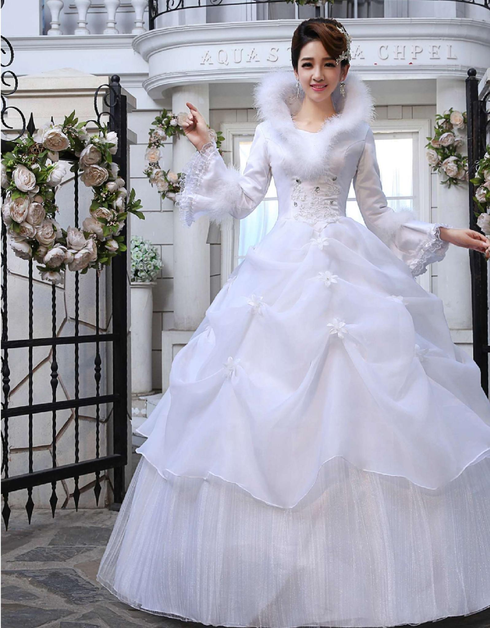 Foto Gaun Pengantin Korea Inspirasi Pernikahan