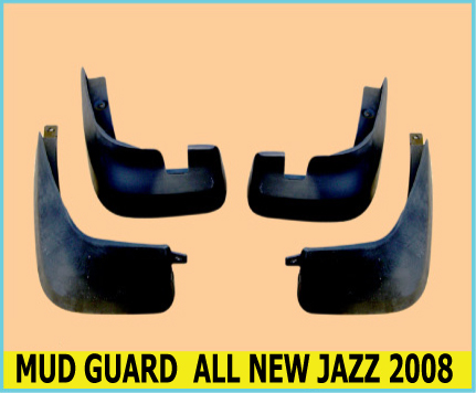 MUD GUARD ALL NEW HONDA JAZZ 2008 ( Karet Penahan Lumpur )