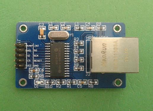 Jual ENC28J60 Ethernet LAN Module Arduino - Kota Bekasi