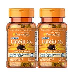 Jual Puritan Lutein 20mg with Zeaxanthin 60 softgels untuk kesehatan mata - Bat18 Vitamin & Suplemen   Tokopedia