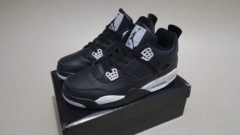 purchase sepatu air jordan iv retro terbaru sepatu basket air jordan 4 retro  oreo ca648 b7da6 09be32e3a0