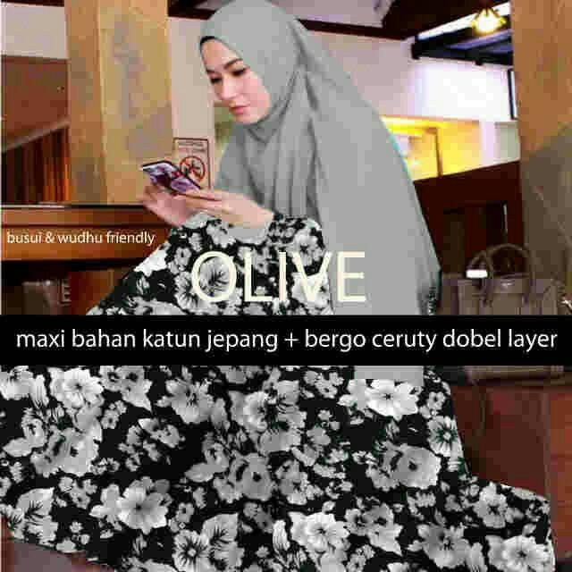 Maxy Hijab Olive