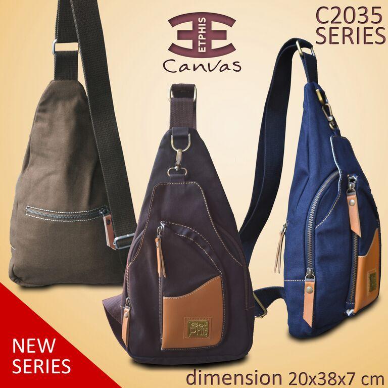 Jual Tas Selempang Pria Etphis 2035 Sling Bag Branded Keren ... 4e78fc3f94