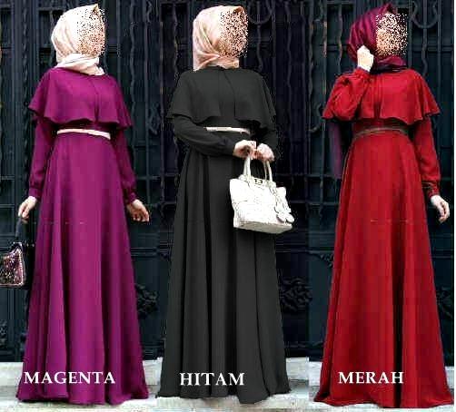 BUSANA/BAJU MUSLIM/SETELAN HIJAB/GAMIS/MAXI/DRESS MURAH 7246