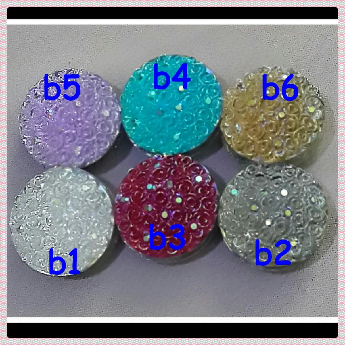 Bros pin magnet jilbab / hijab round