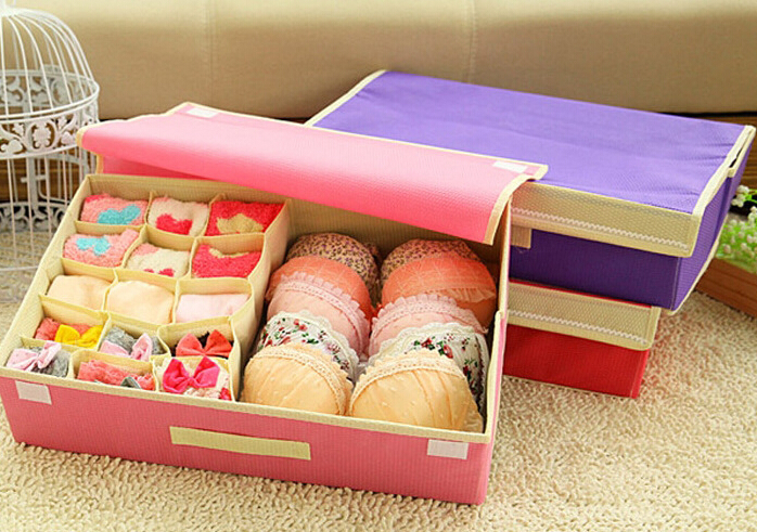 tempat penyimpanan pakaian dalam underwear storage box