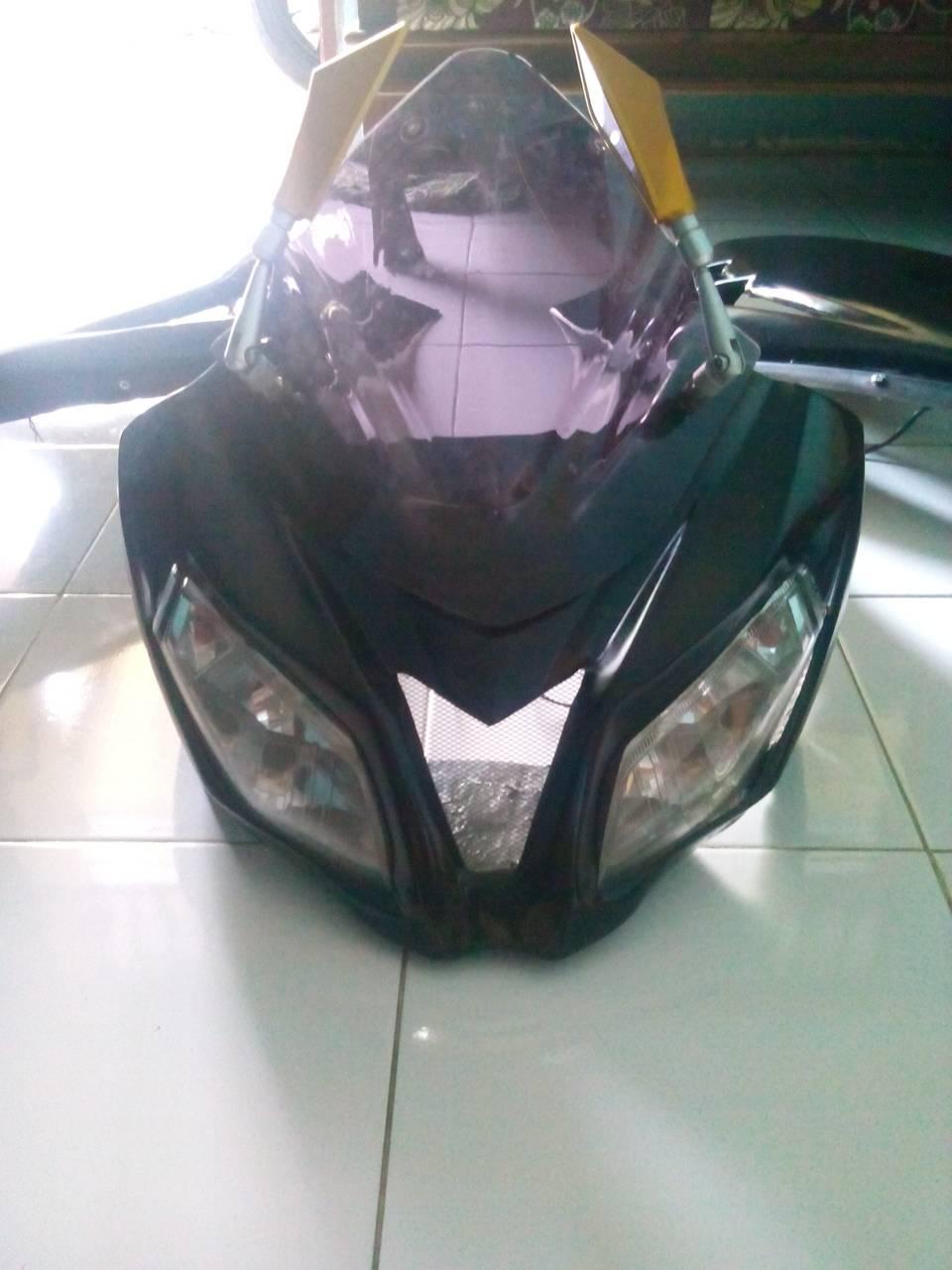 harga full fairing model ninja fi pnp ke honda cb 150 R Tokopedia.com