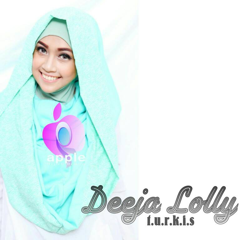 Deeja Lolly By Apple Hijab Brand