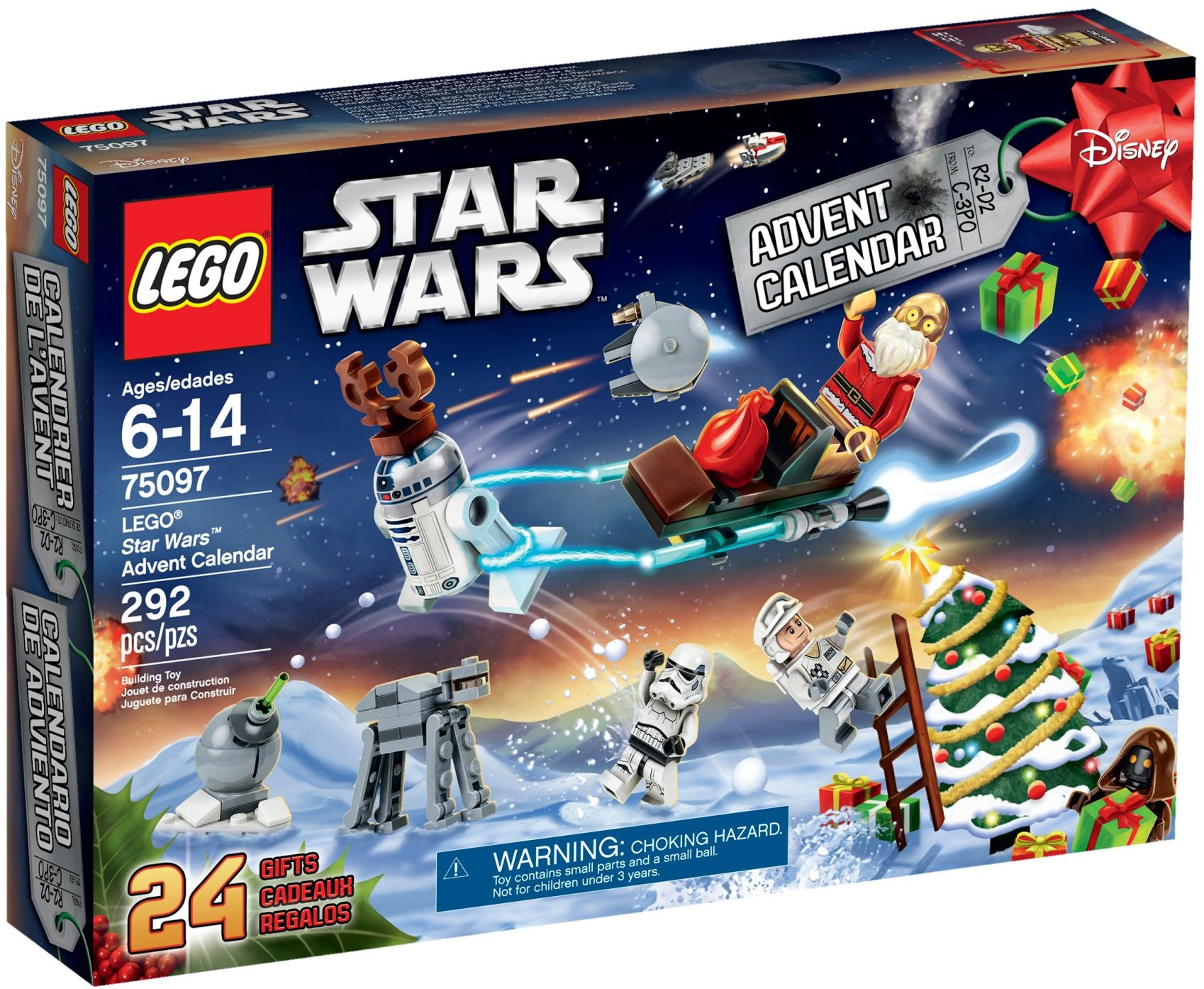 LEGO # 75097 STARWARS ADVENT CALENDER